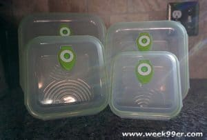 Save All of Your Holiday Favorites with Ozeri Instavac Containers