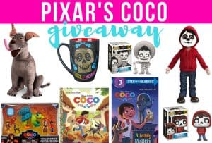 Enter to Win This Amazing Pixar Coco Prize Package! #PixarCoco #THBGiveaway