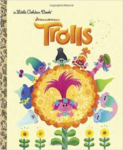 trolls little golden books