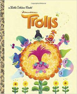 trolls little golden books