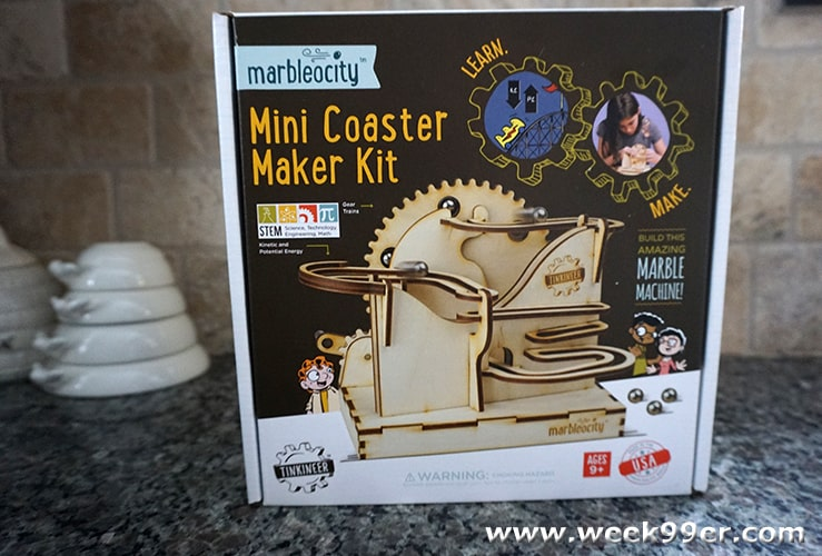Marbelocity Mini Coaster Maker Kit Review