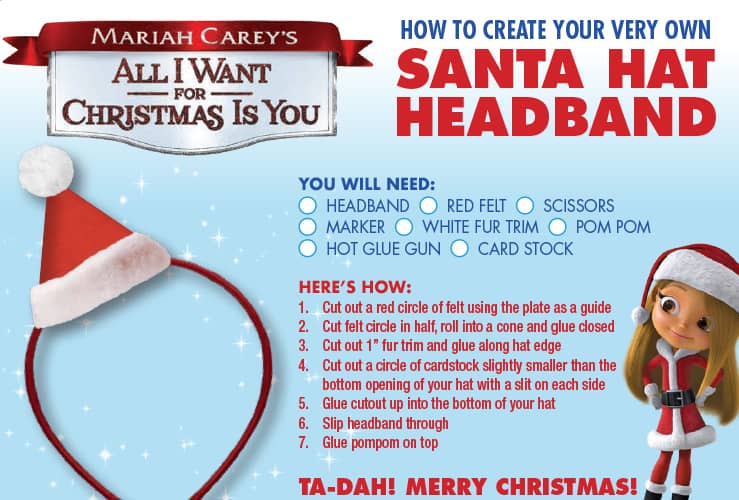 Holiday Activities from Mariah Carey's All I Want For Christmas Is You + Clips