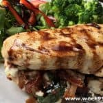 Bacon and Goat Cheese Stuffed Chicken Breast Recipe