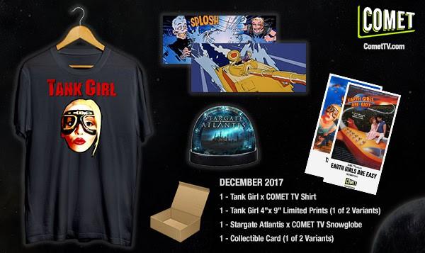 Comet TV December Giveaway Box