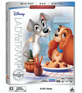 Lady and the Tramp Signature Collection Release Date