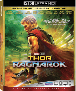 thor ragnarok at home release
