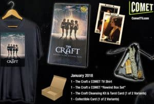 Win a Magical Craft Swag Prize Pack from Comet TV! #CometTV