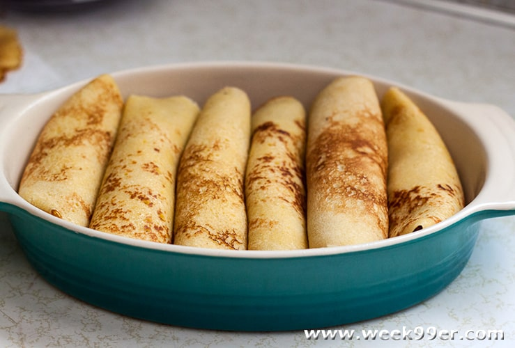 Corn Crepes Recipe