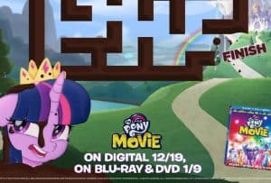 Printable Activity Sheets for My Little Pony The Movie!