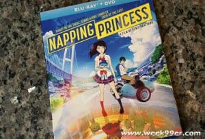 Experience the Sci-fi Fantasy Napping Princess on DVD Today + Enter to Win a Copy