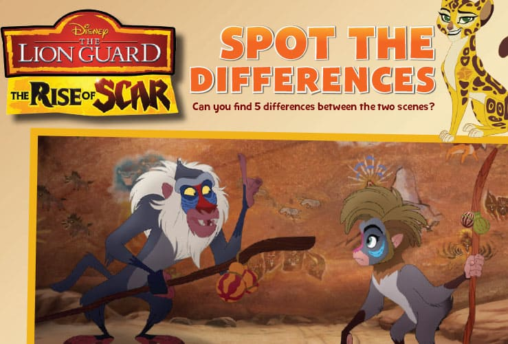 The lion guard the rise of scar activity sheets