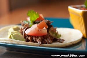 Tequila Lime Shredded Beef Taco Recipe