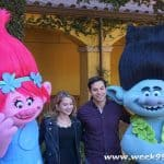 Behind the Voices of Trolls: The Beat Goes on – Amanda Leighton and Skylar Astin Talk About Their New Roles #DWTrollsTV