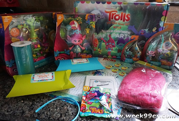 dreamworks trolls party ideas