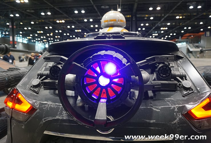 Fandom at the Chicago Auto Show 2018