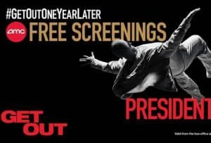Free Screenings of Get Out on Presidents' Day #GetOutOneYearLater