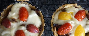 Savory Sausage and Cheese Tarts with Ricos Cheese #RicosCheesePlease