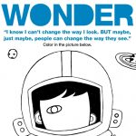 New Wonder Coloring Sheets and More! #choosekind