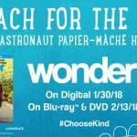 Reach For the Stars and Creating Your Own Astronaut Papier-Mache Helmet! #Choosekind