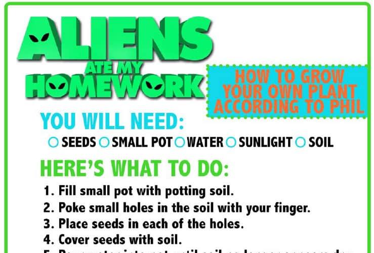 aliens activity sheets