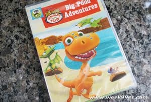 Fun and new Lessons at the Big Pond with Dinosaur Train