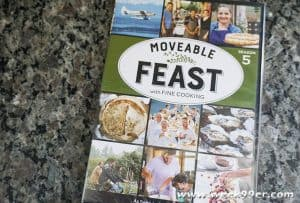 Get Inspired in the Kitchen with Season 5 of Moveable Feast now on DVD
