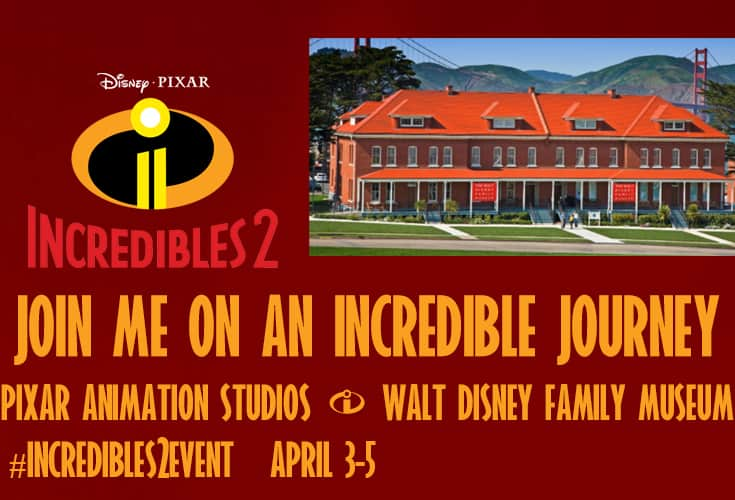 incredibles 2 trip announcement