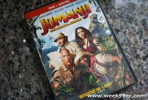 Head Back to the Jungle When You Bring Jumanji Home