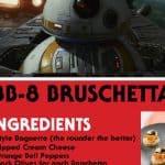 Recipes Inspired by Star Wars: The Last Jedi + Gag Reel Bonus Video #thelastjedi