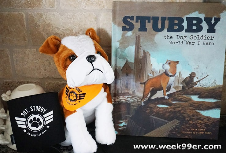 stubby the war dog giveaway