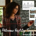 A Wrinkle in Time Printable Coloring Sheets and More! #WrinkleInTime