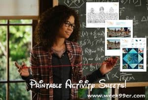 wrinkle in time printables