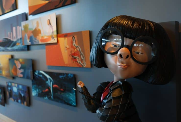 Incredibles 2 Gallery at Pixar Animation Studio