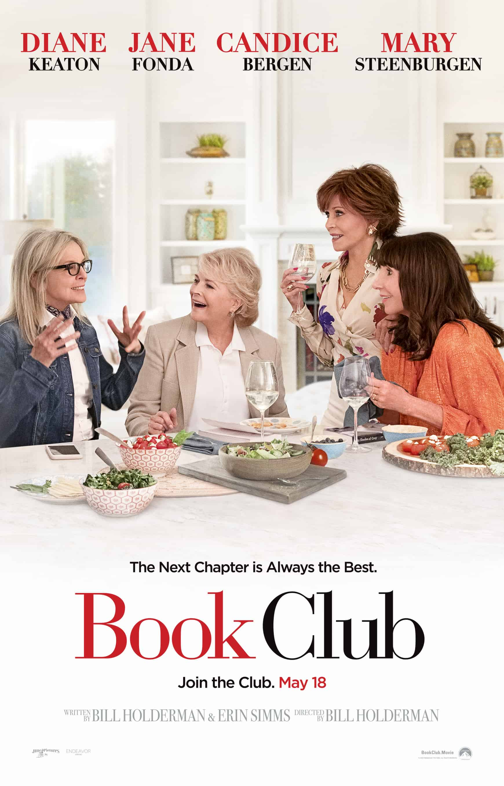 New Trailer for Paramount\'s Book Club #Bookclub