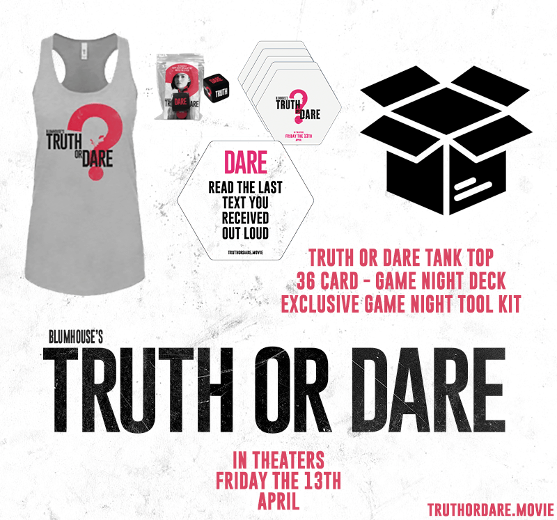 truth or dare giveaway