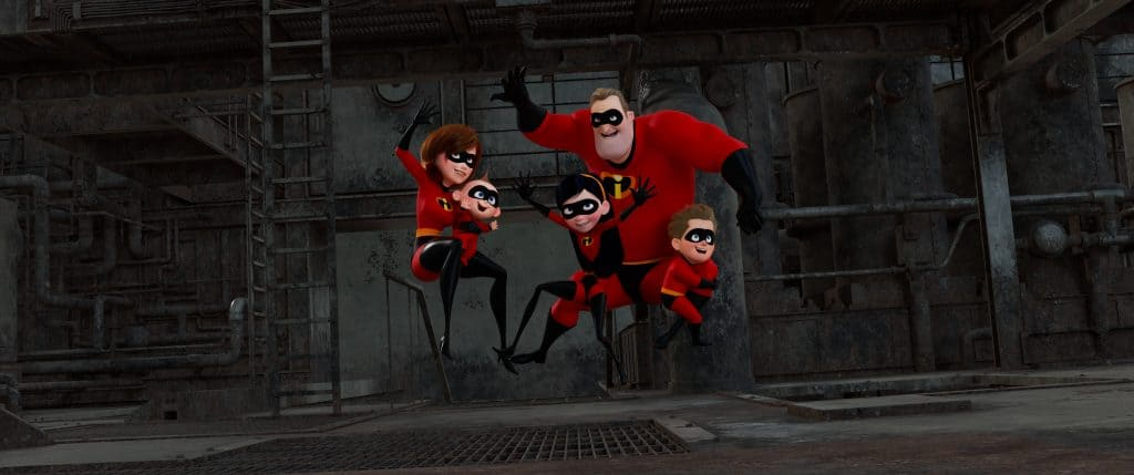 designing the world of the incredibles