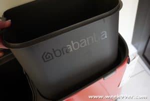 Brabantia bo touch trash bin review