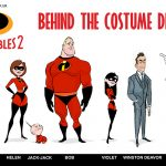 How Retro Fashion Inspired the Look of the Characters in Incredibles 2 #Incredibles2Event