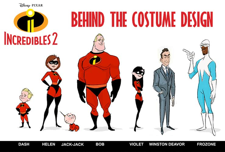 How Retro Fashion Inspired The Look Of The Characters In Incredibles 2 Incredibles2event