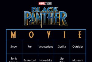 Black Panther Bingo Cards – Download Them For Your Family Movie Night! #blackpanther