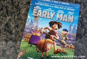 Laugh all the Way Back to Prehistoric Times with Early Man + Fun Activity Sheets