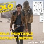 Printable Han Solo Activity Sheets for Your Star Wars Day Celebration! #HanSolo