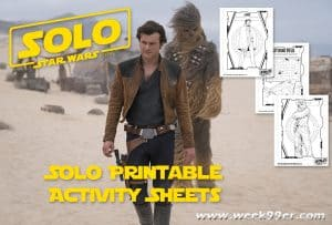 solo activity sheets