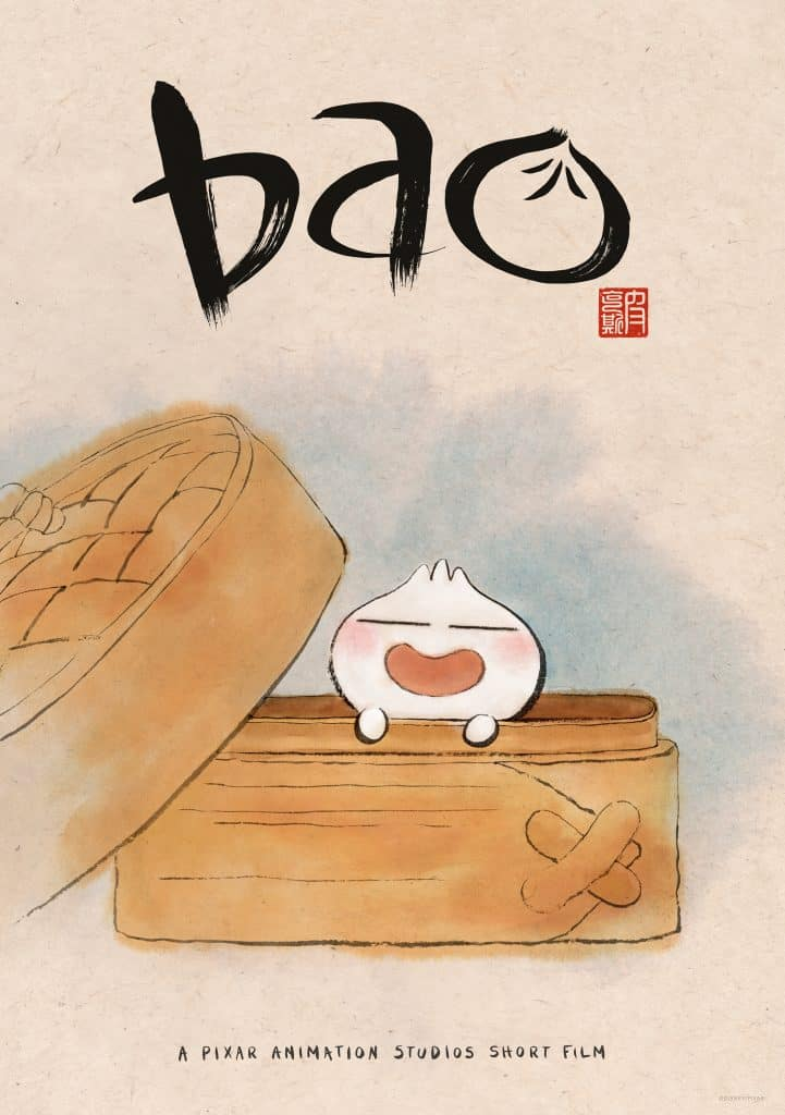 Bao animated short Pixar poster