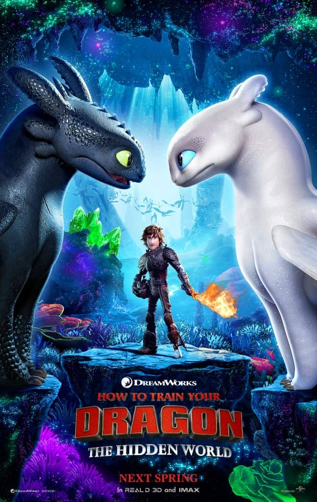 how to train your dragon hiddenworld poster