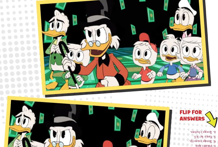 Ducktale Activity Sheets