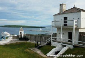 Fort Mackinac Mackinac Island Michigan