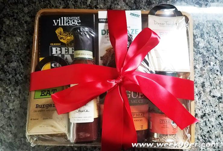 gourmet gift basket bbq gift ideas