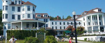 Waterfront Dining at the Oldest Hotel on Mackinac Island – Visit the 1852 Grill Room #ThisIsMackinac #MakeItMackinac #PureMichigan #MackinacIsland