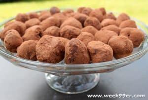 mocha truffle recipe